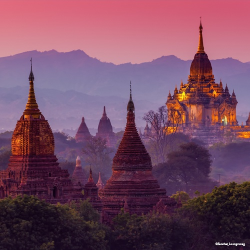 Bagan, Birmanie