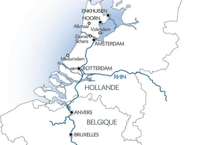 Carte Auchan Belgique.A Travers Les Pays Bas Et La Belgique Croisiere Belgique Avec