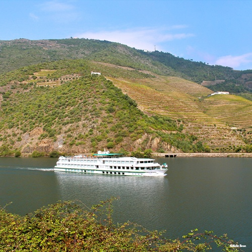 MS Vasco de Gama en navigation sur le Douro