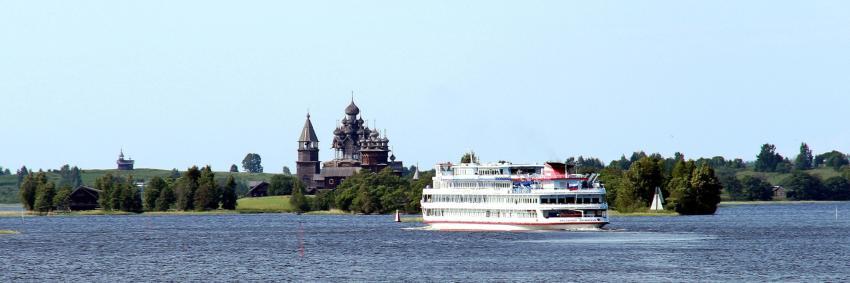 Navigation du Chicherin sur la Volga