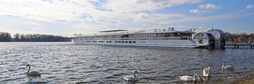 Elbe Princesse II sur l'Elbe