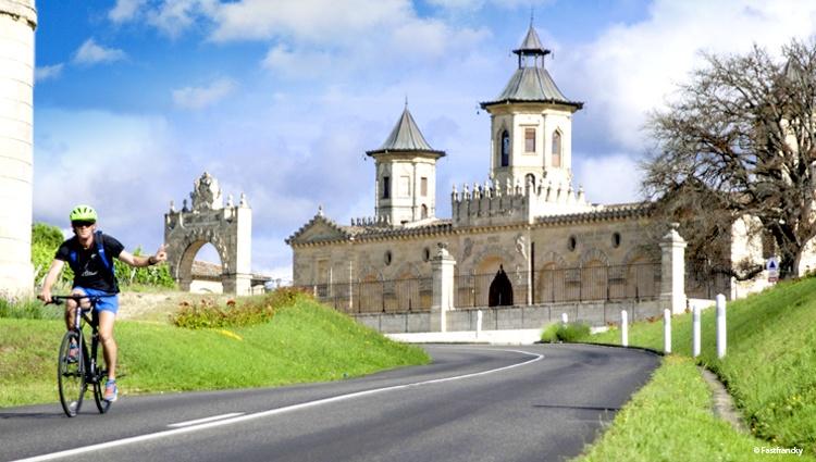 Randonnée à vélo en Gironde
