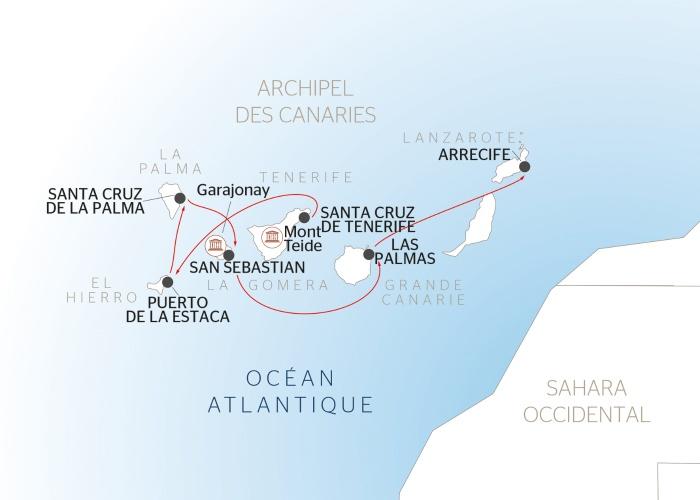 Croisière dans l'archipel des Canaries (formule port/port) - 9