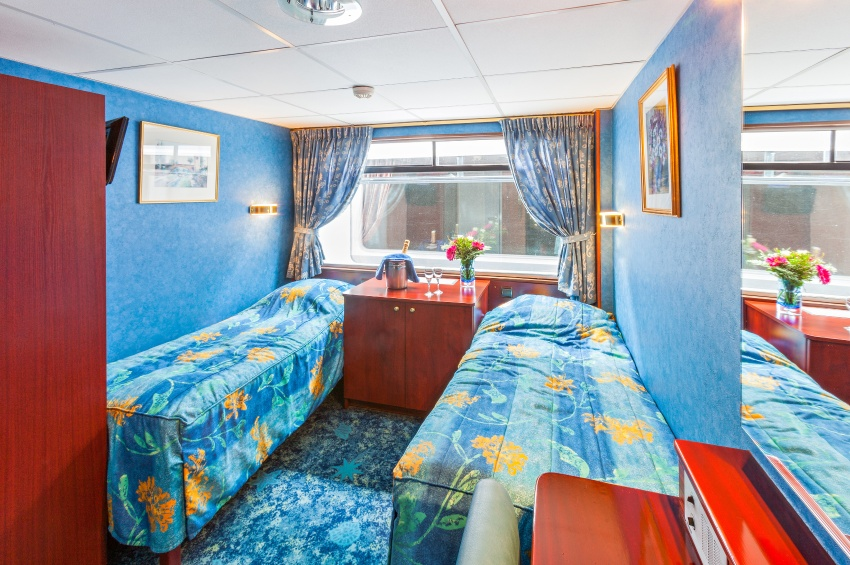Cabine deux lits