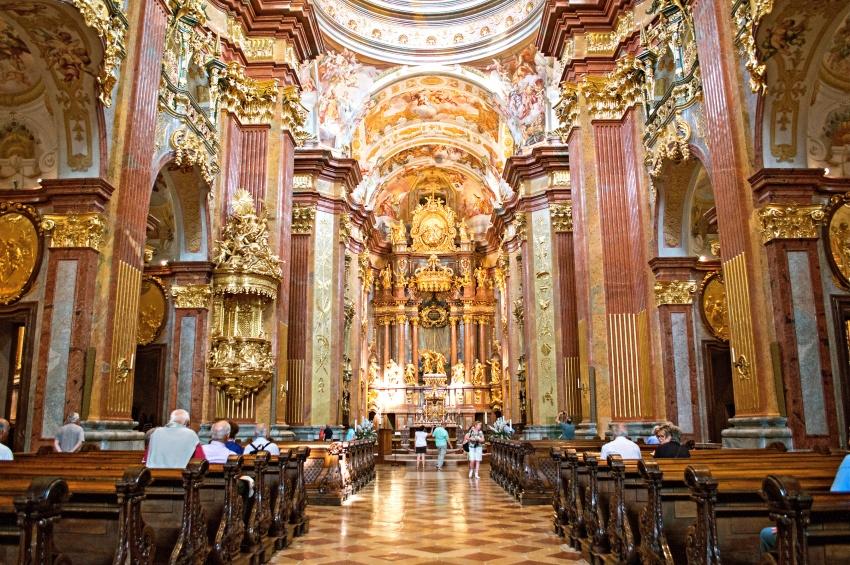 Eglise de Melk en Autriche