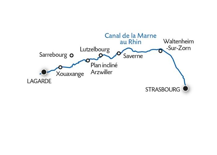 Croisière Le canal de la Marne au Rhin - 8