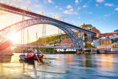 The Food and Soul of the Douro Valley A colorful cruise along a historic river to taste the local specialties  (port-to-port cruise)