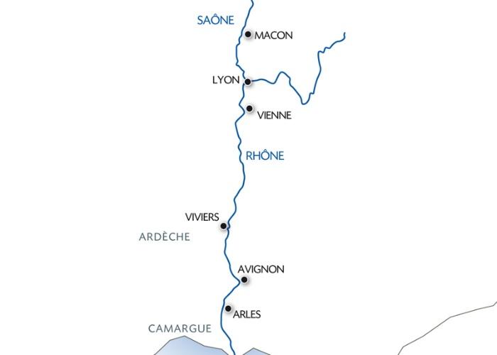 Croisière De la Bourgogne à la Camargue : sur la Saône et le Rhône (formule port/port) - 9