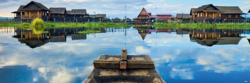 Lac Inlé, Birmanie