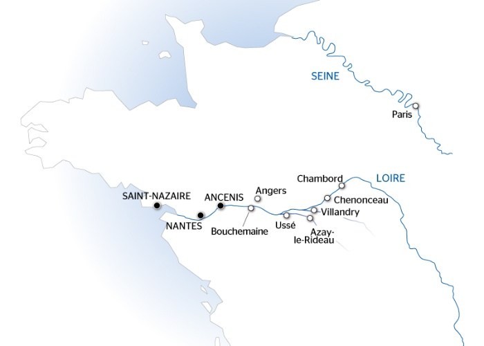 From The Ch 226 Teaux Of Chambord And Chenonceau To The Loire Valley Croisieurope Cruises