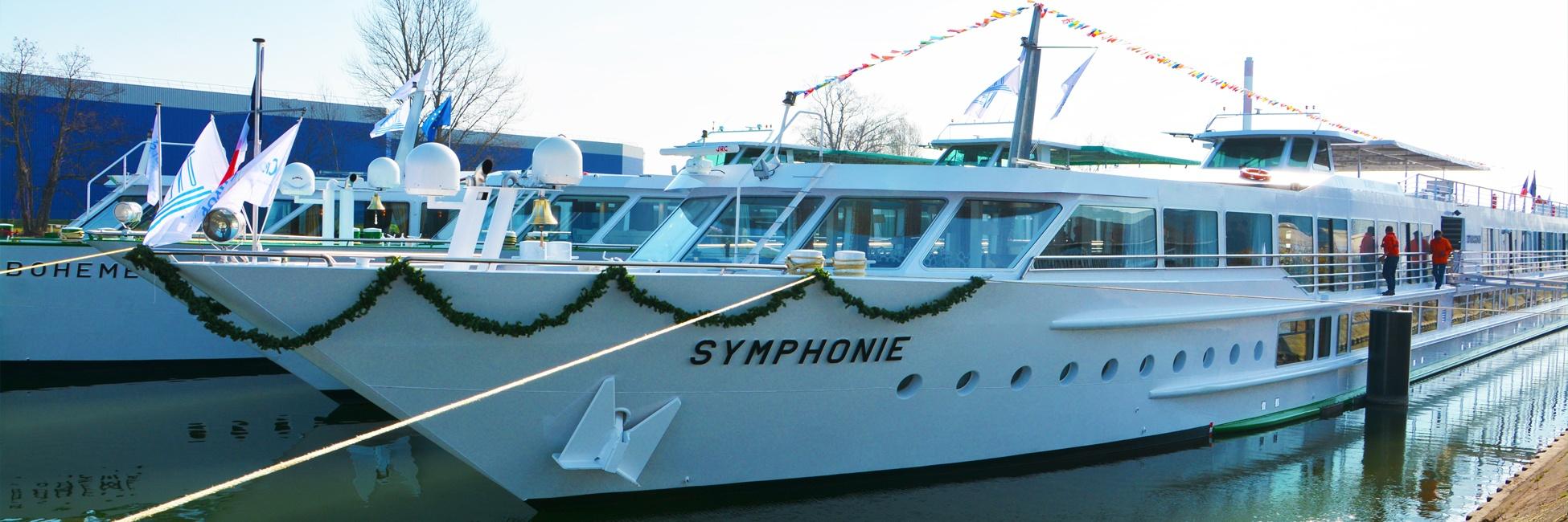 MS Symphonie à quai