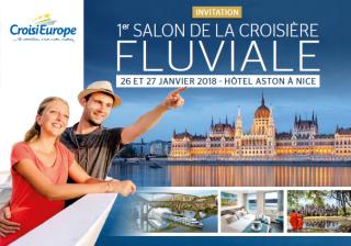 Découvrez le 1er salon de la croisière avec CroisiEurope à Nice