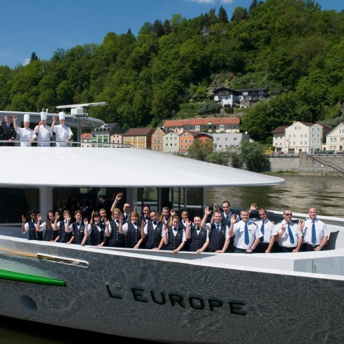 Equipage du MS Europe