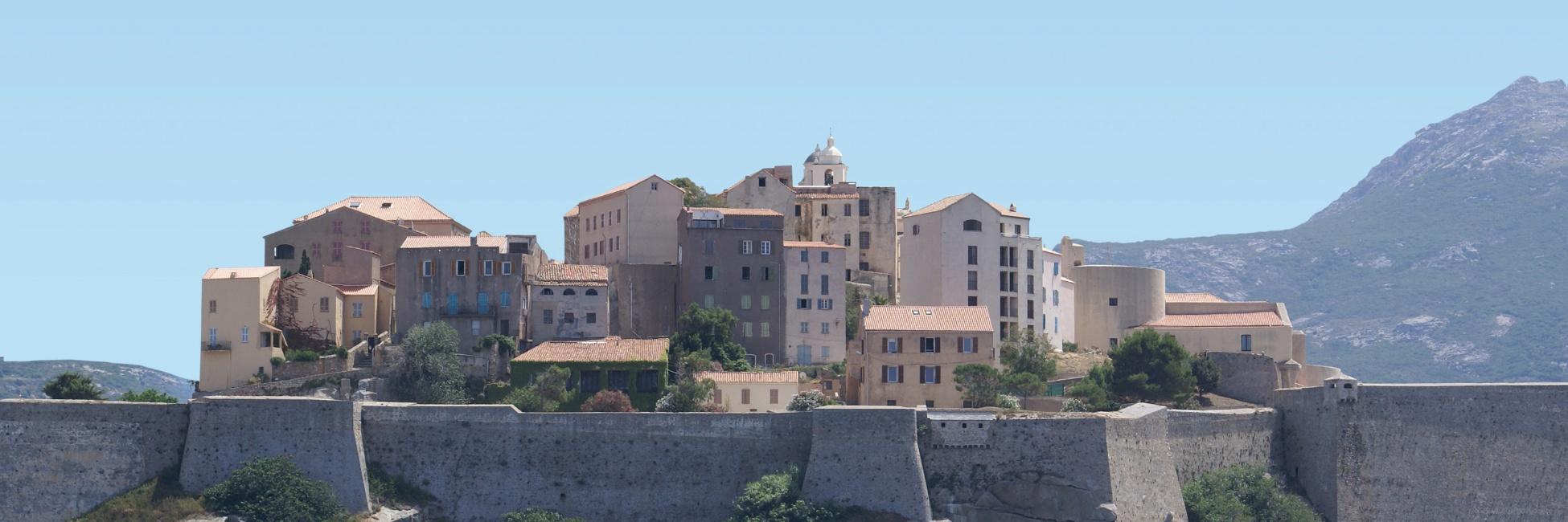 Ville de Calvi en Corse