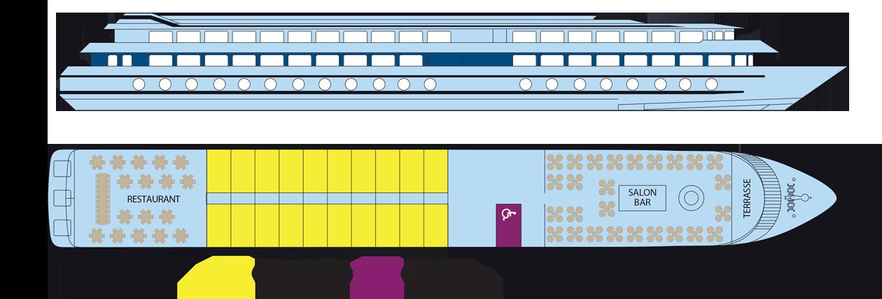 Plan du pont intermédiaire