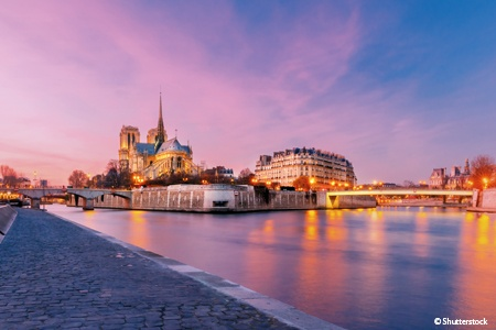 The finest and most picturesque ports of call in the Seine valley (port-to-port cruise)