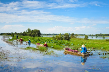 From the Mekong Delta to the Angkor Temples (port-to-port cruise)