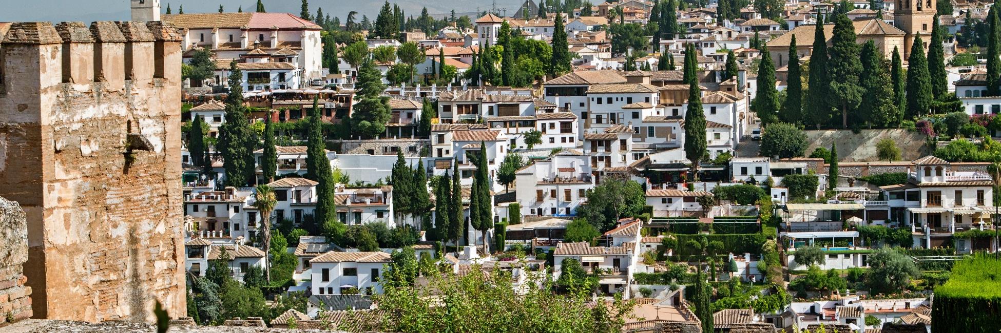 Alhambra à Grenade en Espagne