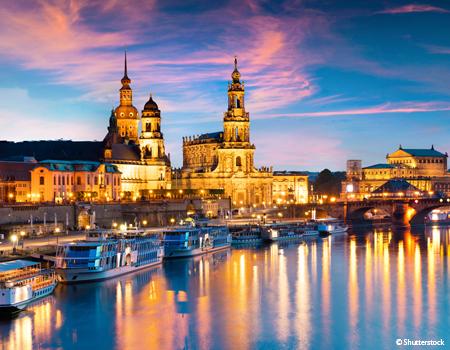 Nouvel An sur l'Elbe de Dresde à Berlin (formule port/port)