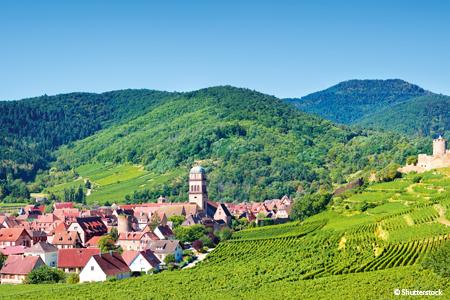 Croisière L'Alsace pittoresque et gourmande (formule port/port)