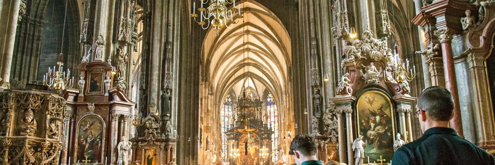 Eglise à Vienne en Autriche