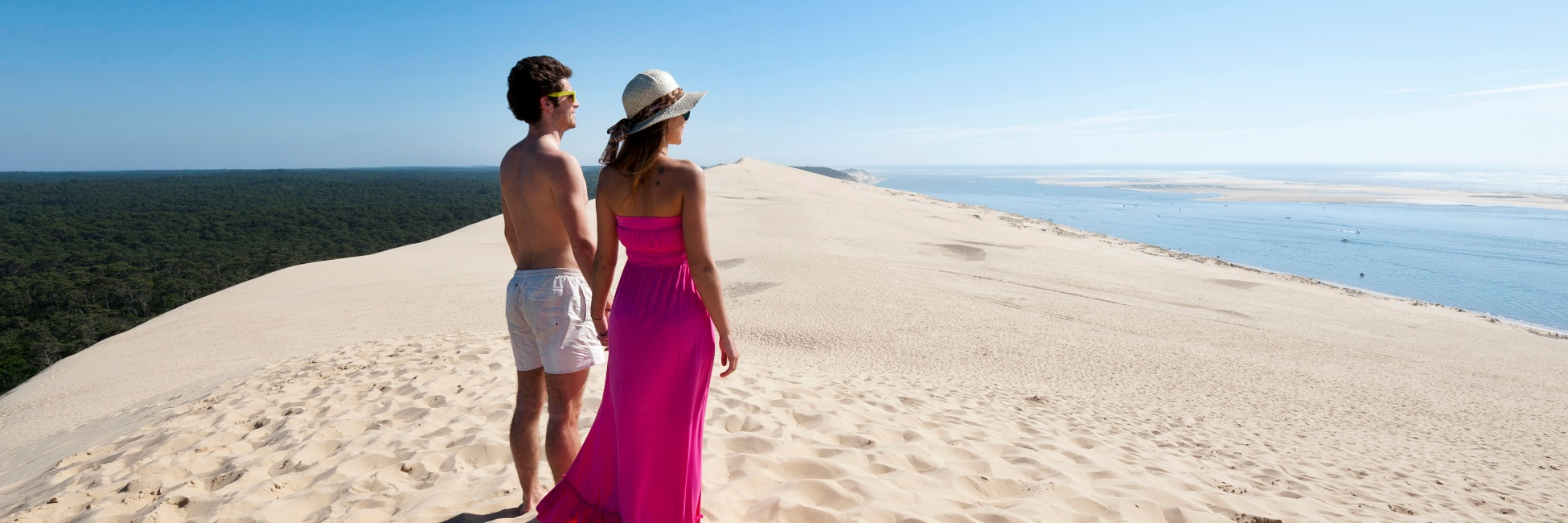 Dune à Arcachon en Gironde