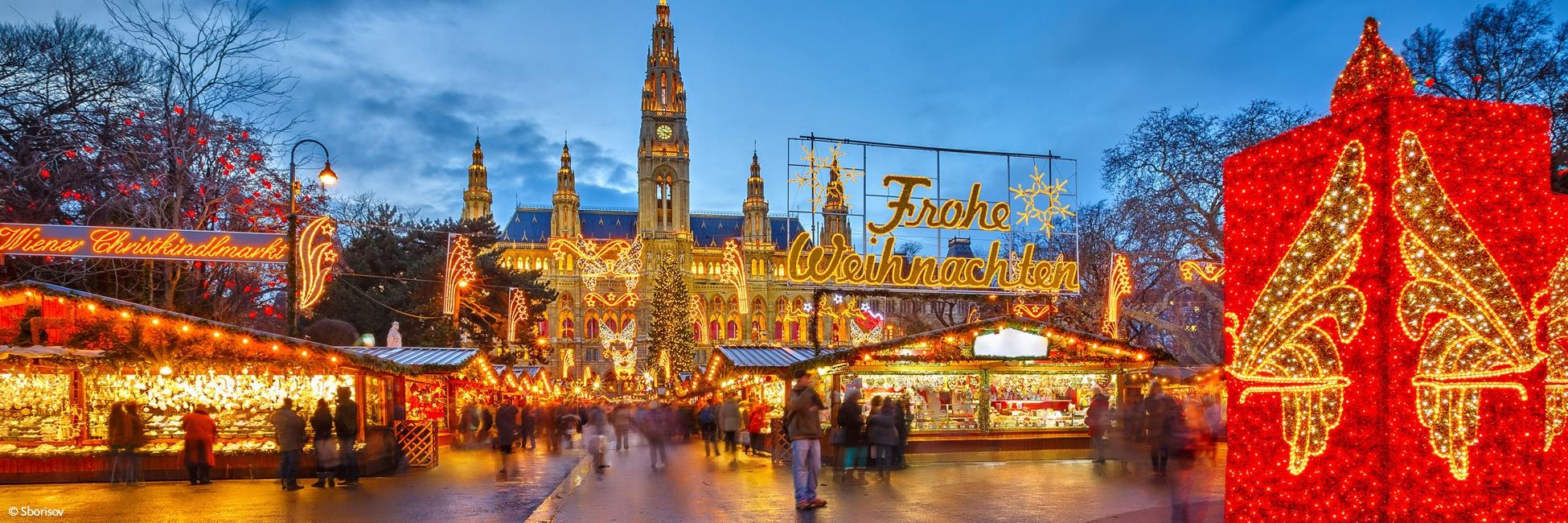 Croisieurope cruises to Vienna in Winter