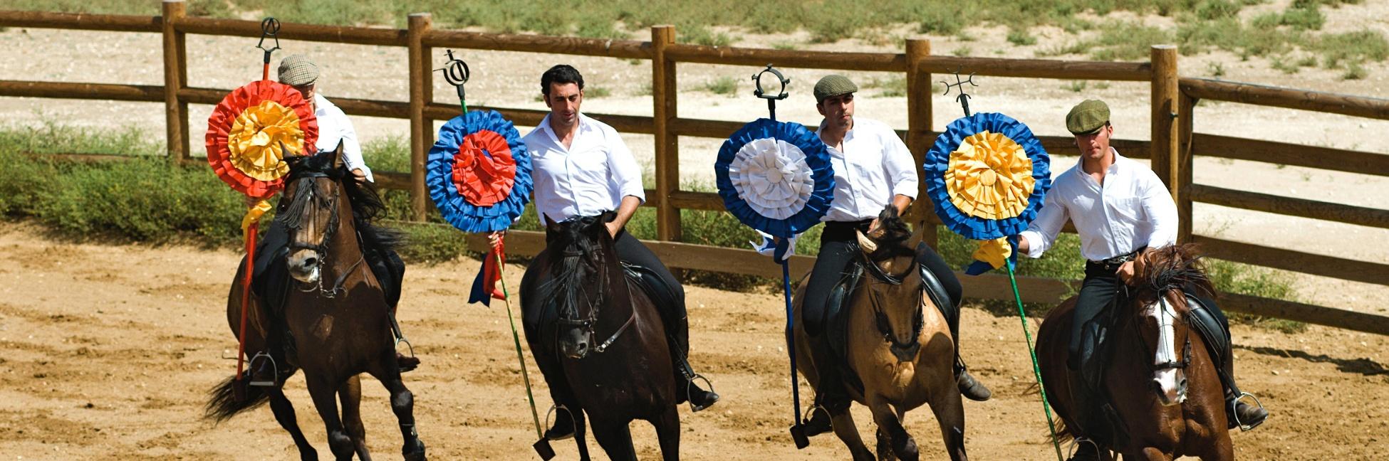 Cavaliers en Espagne
