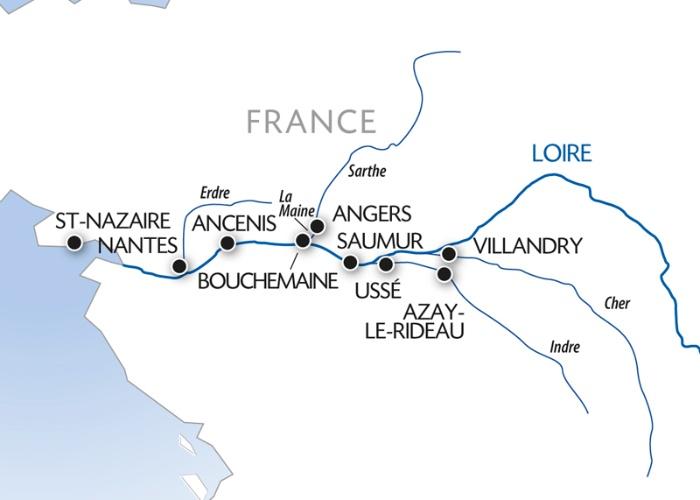 Croisière La Loire, un héritage Royal (formule port/port) - 8