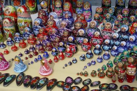 Souvenirs à Ouglitch en Russie
