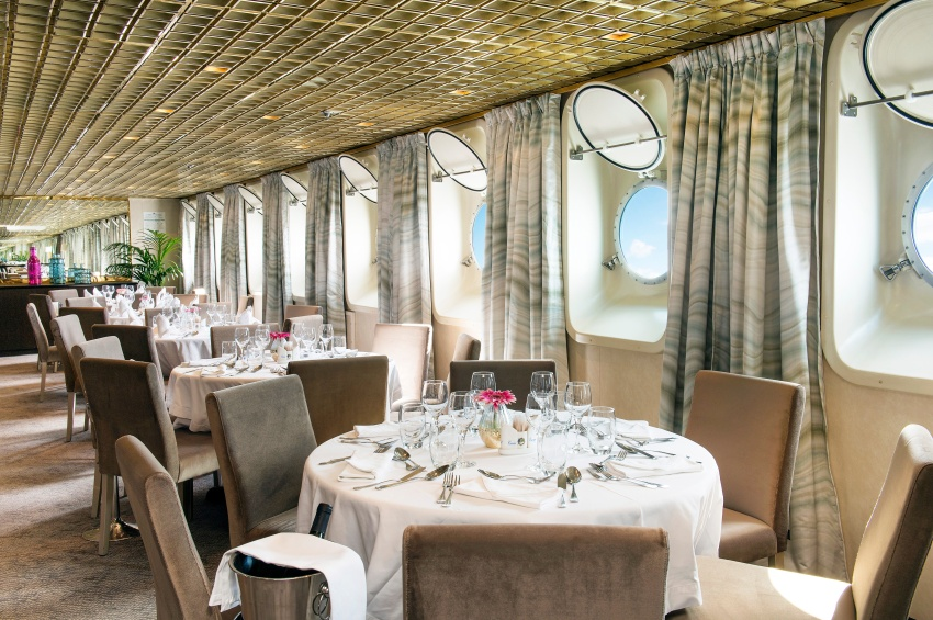 Restaurant du MS La Belle de l'Adriatique