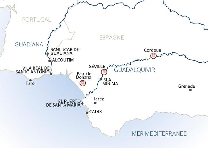 Carte Espagne Faro.Les Payages Enchanteurs De L Espagne Et Du Portugal