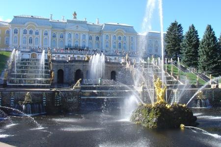 Palais de Peterhof en Russie