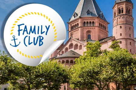 Family Club: The romantic Rhine Valley and the rock of the Lorelei (port-to-port cruise)