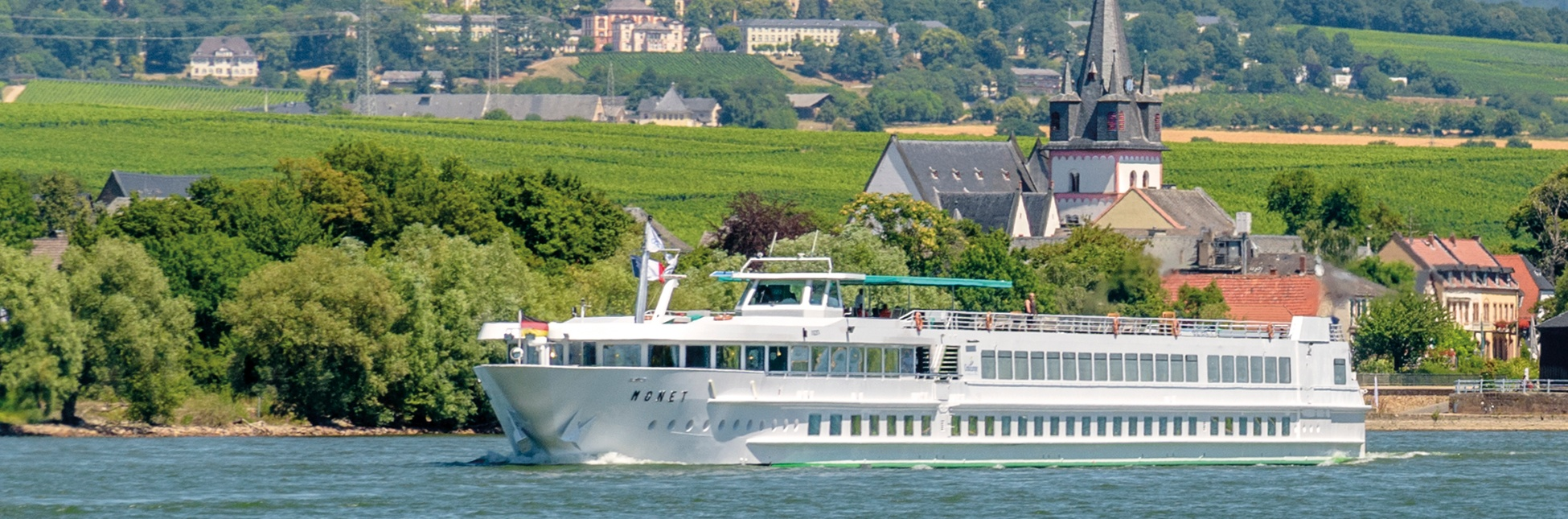 Le MS Monet sur le Rhin et Danube
