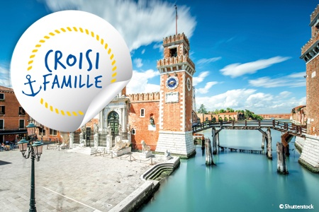 Croisière famille - Venise et sa lagune - voyage  - sejour