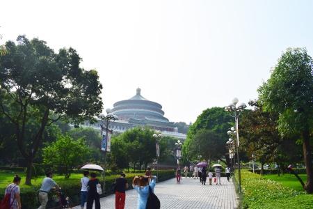 Palais Chongqing en Chine