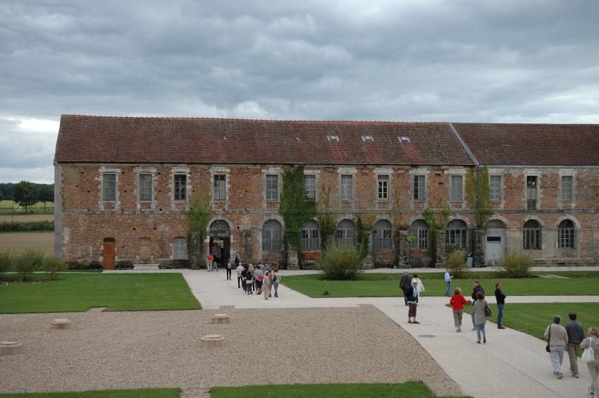 Extérieur de l'abbaye Notre-Dame-de-Cîteaux