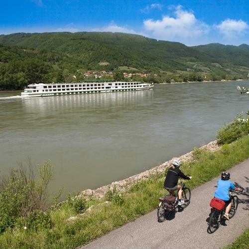 Randonnée à vélo le long du Danube