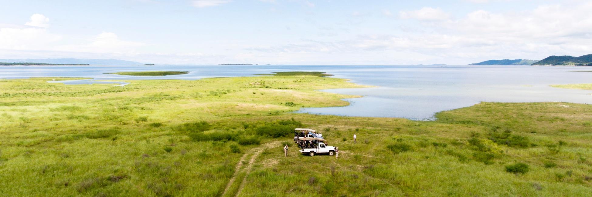 Lac kariba en Afrique Australe