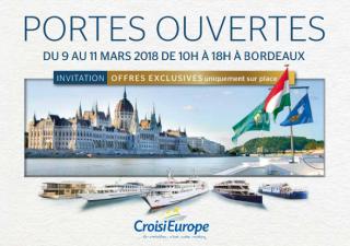 Découvrez nos portes ouvertes CroisiEurope à Bordeaux
