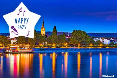 Week-end sur le Rhin HAPPY DAYS
