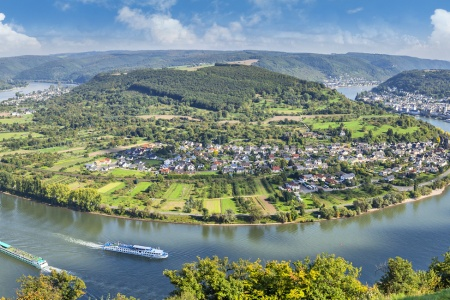 Hiking along Four Rivers: The Moselle, Sarre, Romantic Rhine, and Neckar (port-to-port cruise)