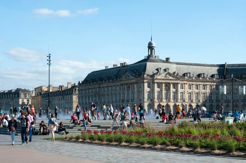 Place Bourse à Bordeaux
