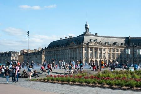 Place Bourse à Bordeaux