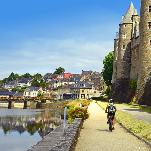 Randonnée à vélo le long de la Loire