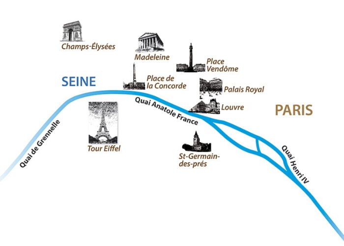France - Ile de France - Paris - Seine en croisière - Escapade Parisienne