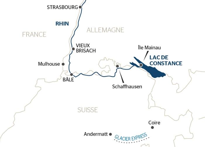 Croisière France, Suisse et Allemagne : voyage à bord du fabuleux train Glacier Express ! (formule port/port) - 7