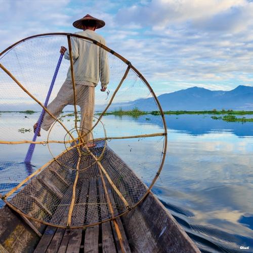 Lac Inle, Birmanie