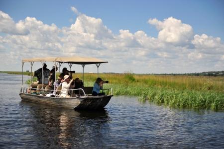 Embarcation parc national de Chobé